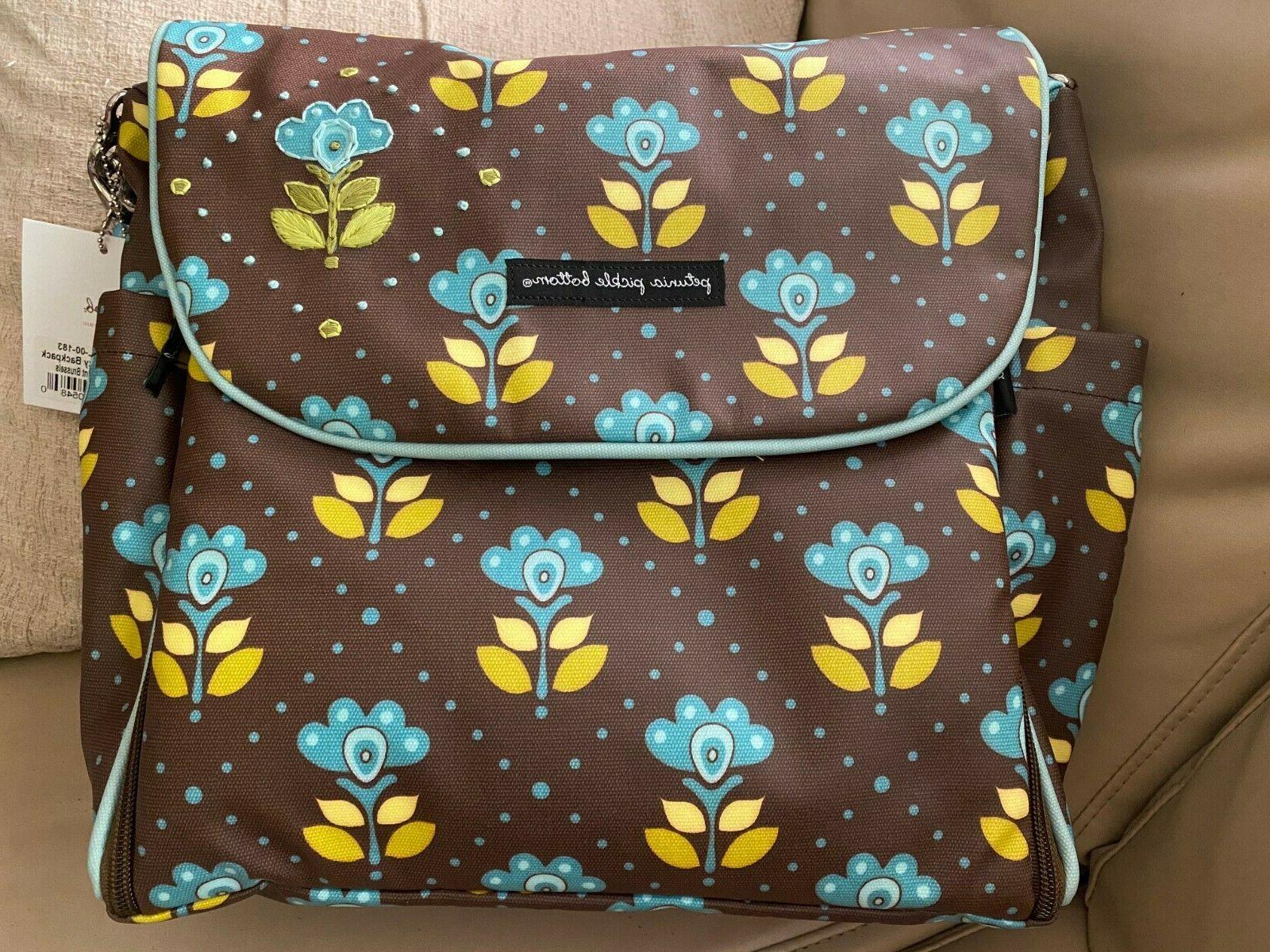 boxy backpack diaper bag nwt glazed