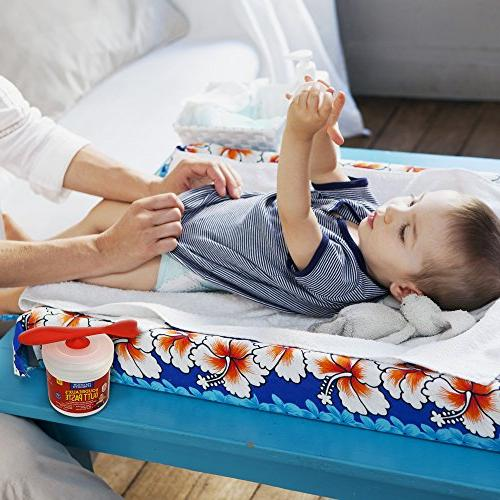 Boudreaux's Butt Brush Diaper | Silicone Brush