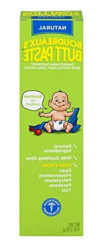 Boudreaux's Butt Paste Diaper Rash Ointment | With Natural A