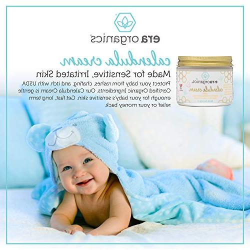 Calendula Baby Lotion – Soothing Moisturizing Cream For Baby Baby Rashes Seed Rosemary, Oxide More.