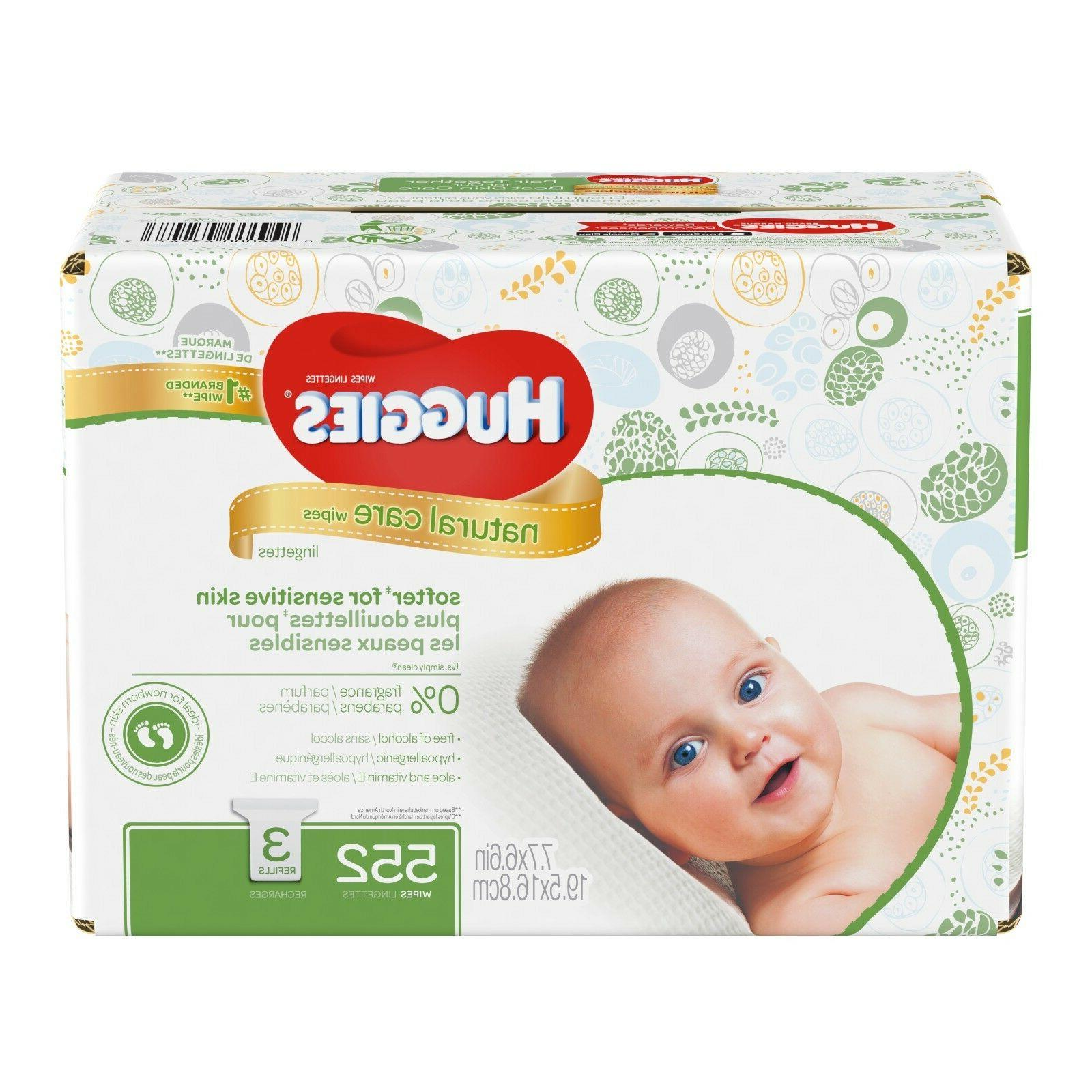 care unscented wipes