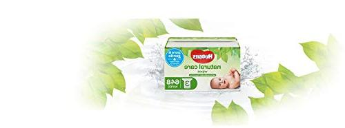 Huggies Natural Baby Wipes, Water-Based, 3 648 Count Total
