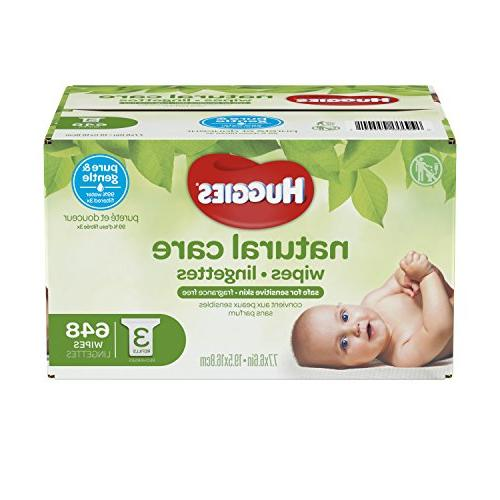Huggies Baby Water-Based, 3 Refill Packs, 648 Count