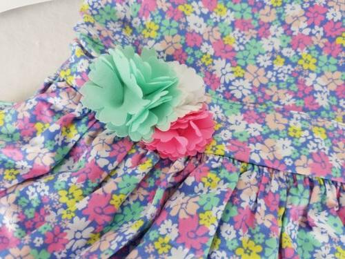 Carter's Girl Floral New w/ Cover 3