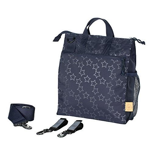 Lassig Womens Casual Baby Bag Reflective Star, Navy