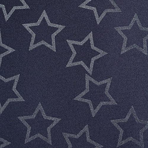 Lassig Casual Baby Diaper Reflective Star, Designed Moms, Navy