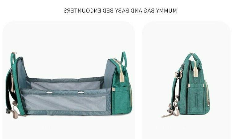 Changing Baby Bag with Pockets Easy Use