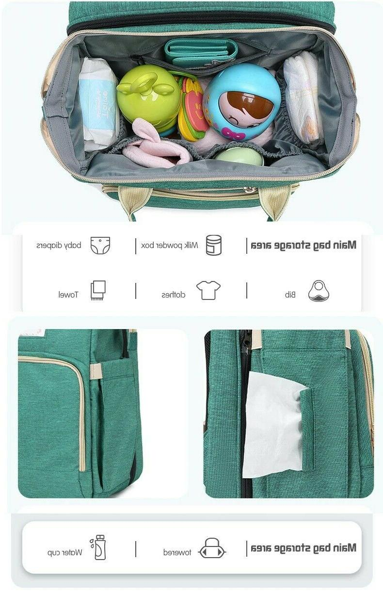 Changing Table Baby Bag Bottle Pockets | Use