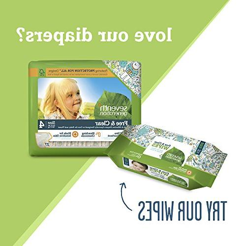 Seventh Generation Clear Baby 6, pk, ea