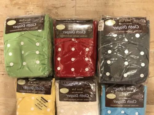 Cloth Diaper Lot Lab In AI2 Inserts Boy Specific