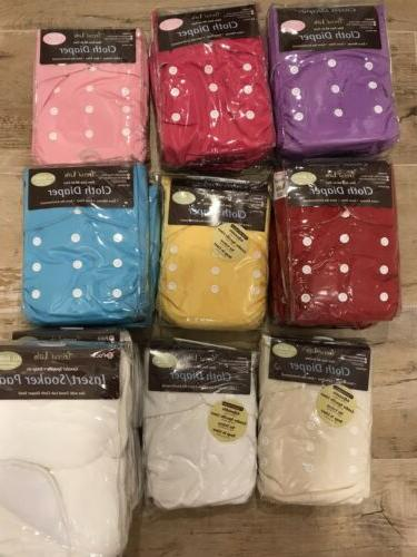 Cloth Diapers Lot Trend Lab All In Two AI2 Extra Inserts - S