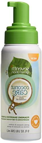 Seventh Generation Coconut Care Foaming Shampoo and Wash - 9