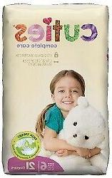 Cuties Complete Care Baby Diaper Size 6 35 lbs. CCC06 84 Ct