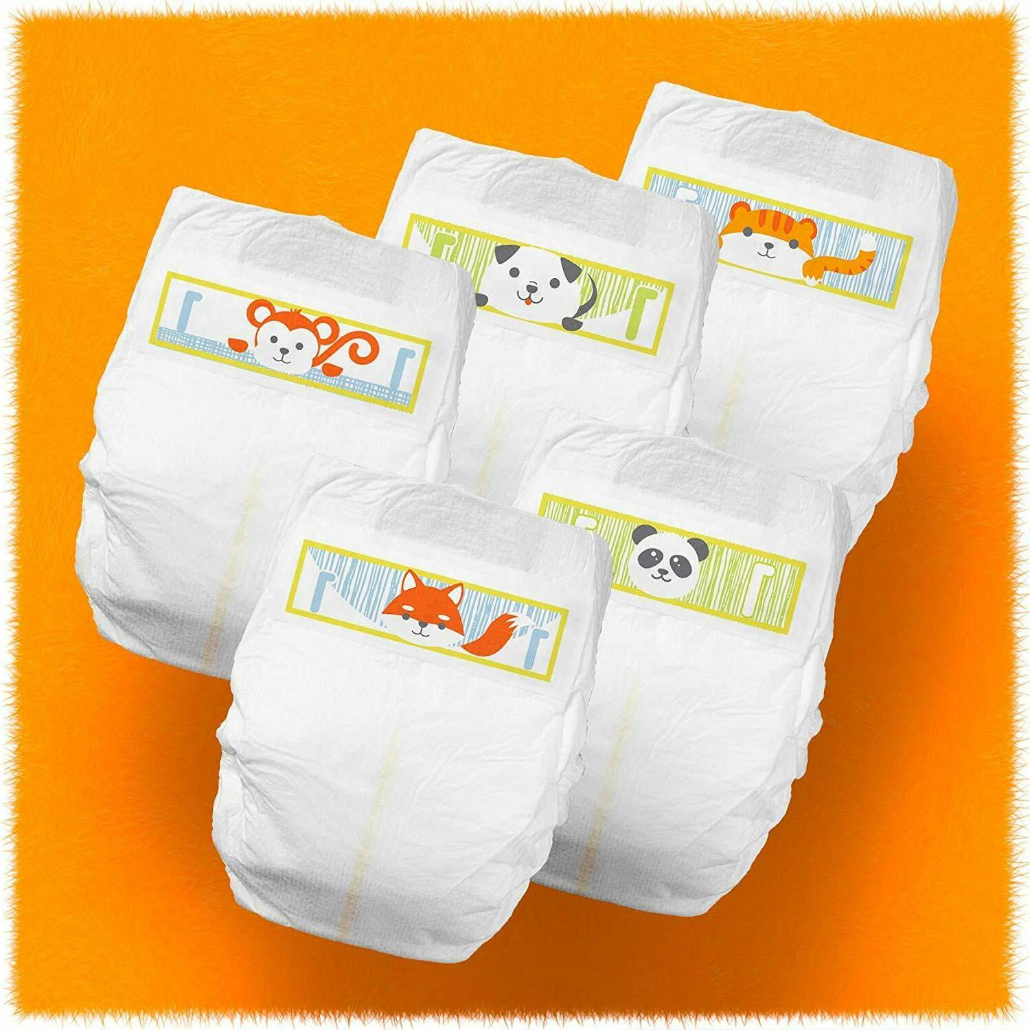Cuties Diapers, Size 2, Count