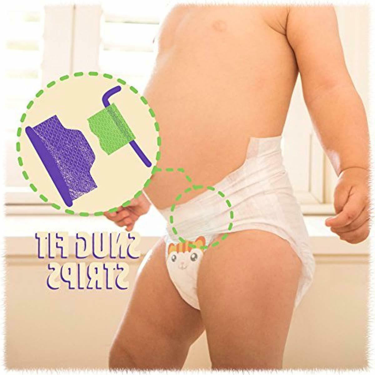 Cuties Baby Diapers, 4, Count