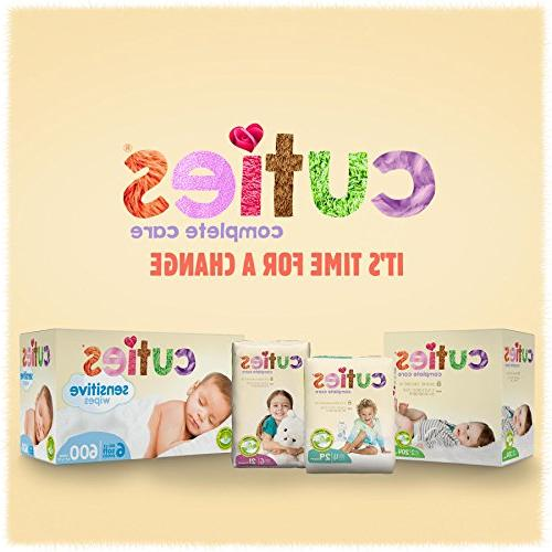Cuties Care Baby Diapers, Size Count