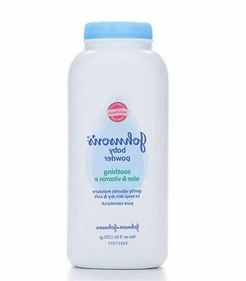 JOHNSON'S Pure Cornstarch Baby Powder 9 oz