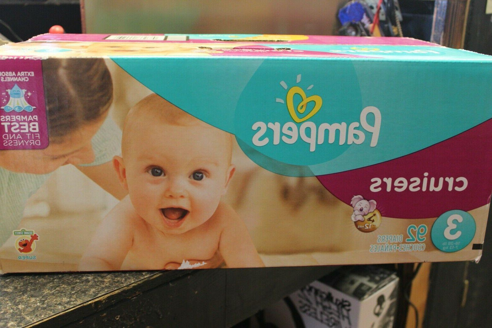 Pampers Size 92 Count, SUPER