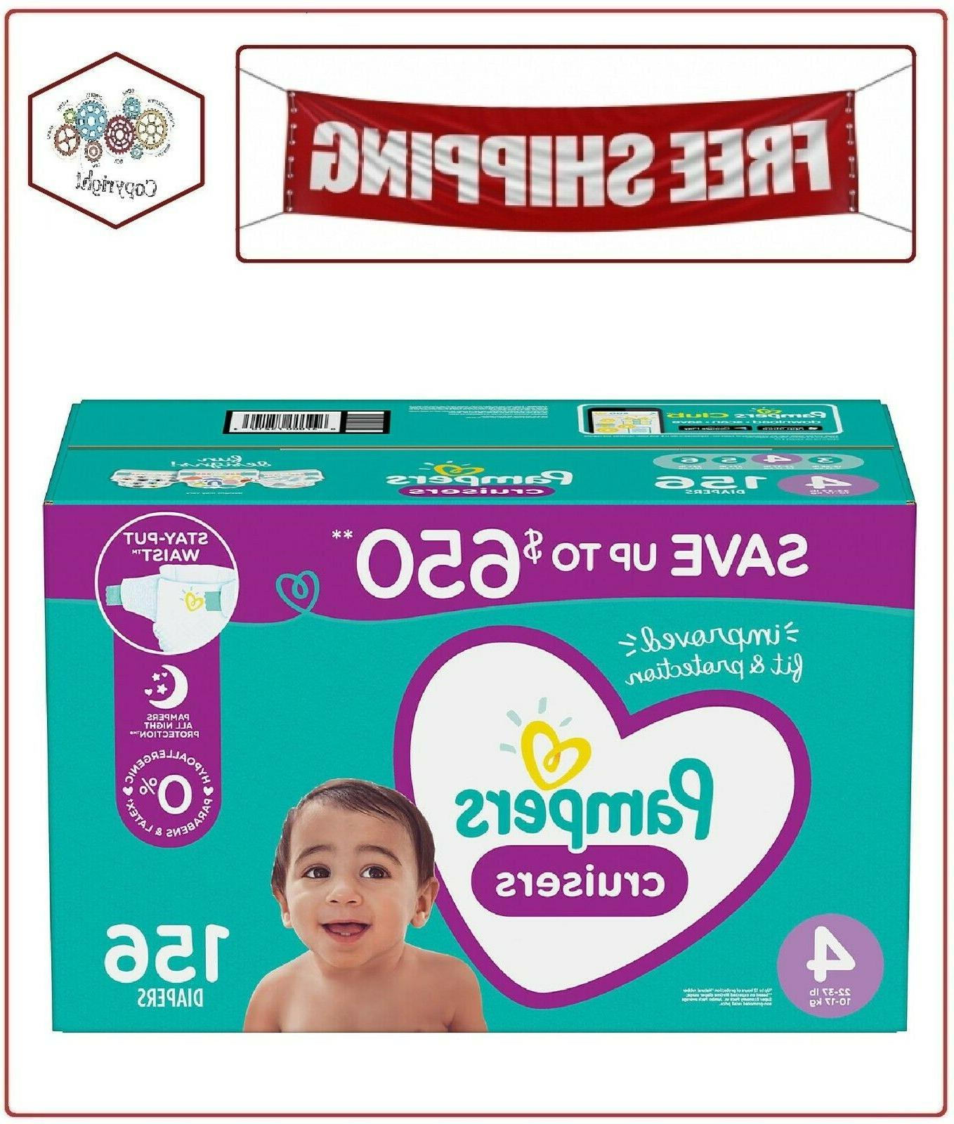 cruisers diapers 4 156 ct 22 37