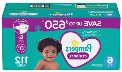 Pampers Cruisers Diapers Pack 4 5 6 choose and Count