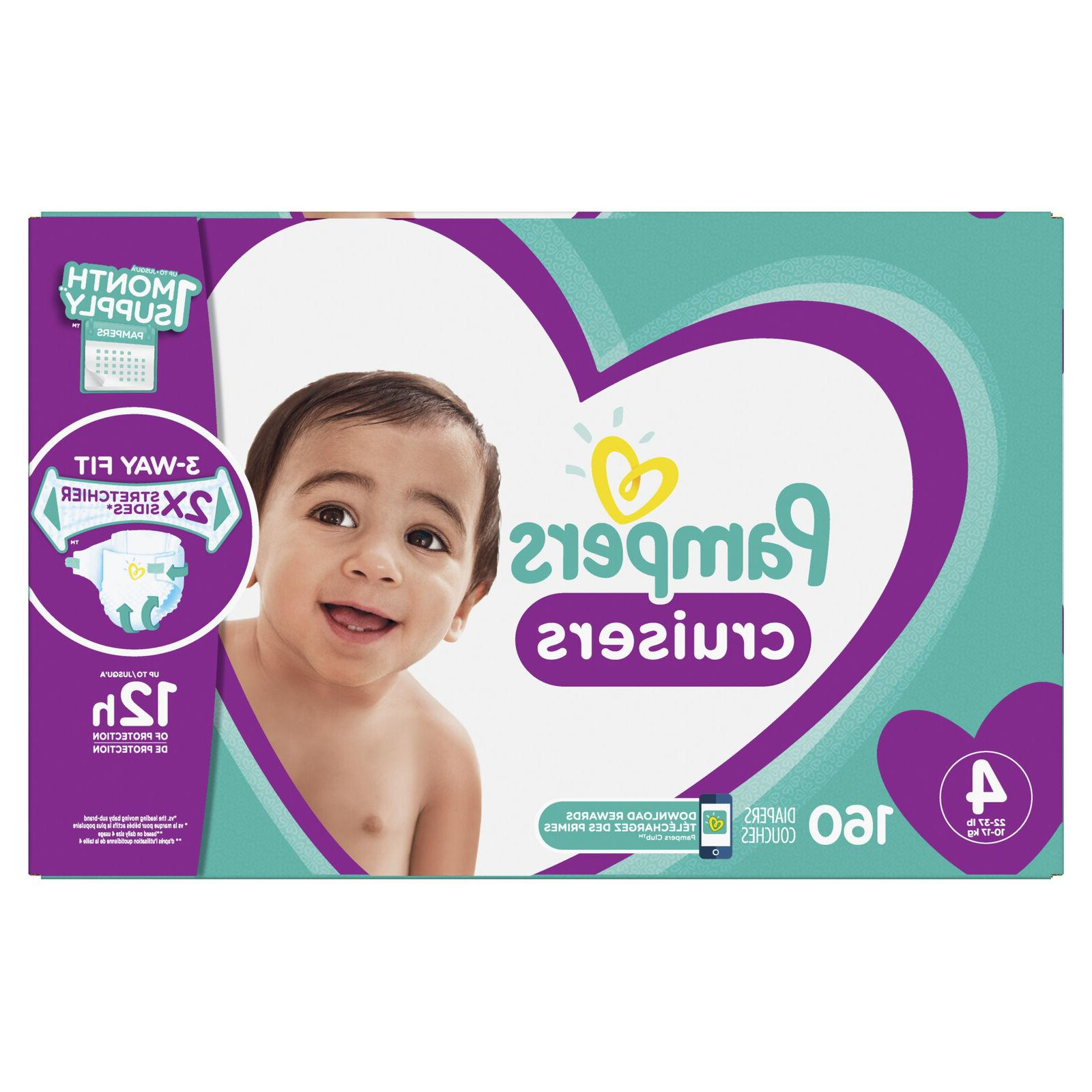 Pampers Cruisers Diapers 22 with 70 Count