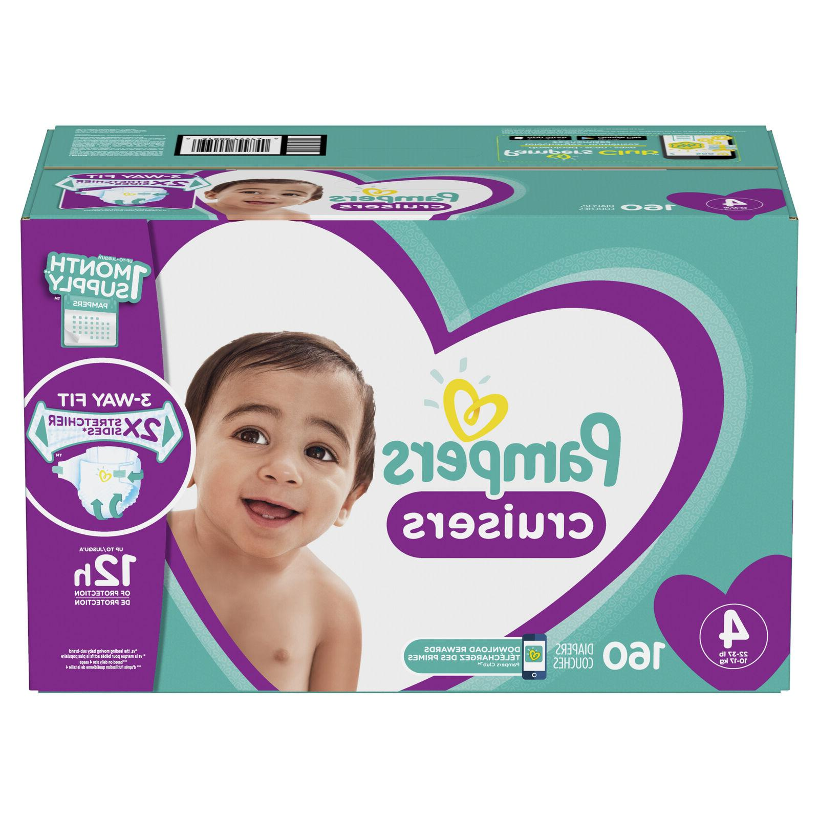 Pampers Size 4 for 22 lbs with 160 Count