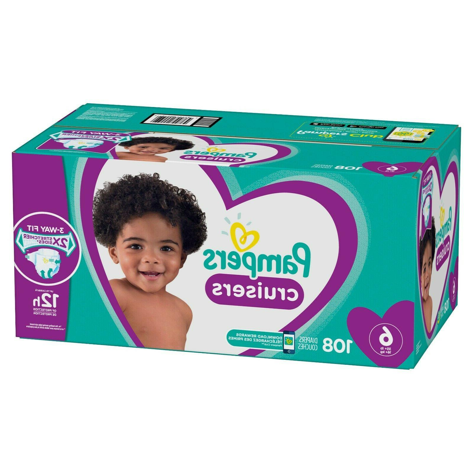 cruisers diapers size 6 108 count free