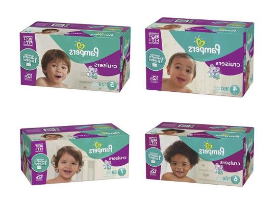 cruisers disposable baby diapers size 3 4