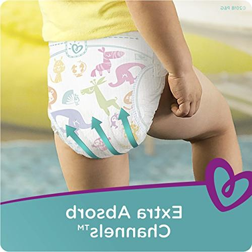 Pampers Disposable Baby Diapers Size 7, Count, MONTH