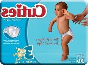 cuties cr3001 diapers 144 case