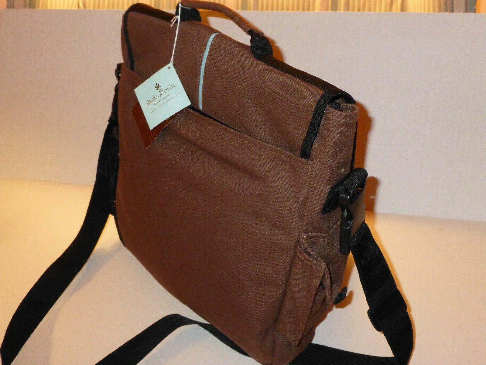 Daddy Diaper Bag Eco-Friendly Organic Brown