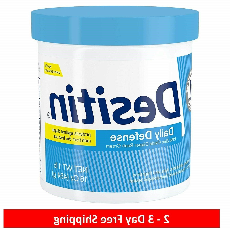 daily defense diaper rash cream 16 oz