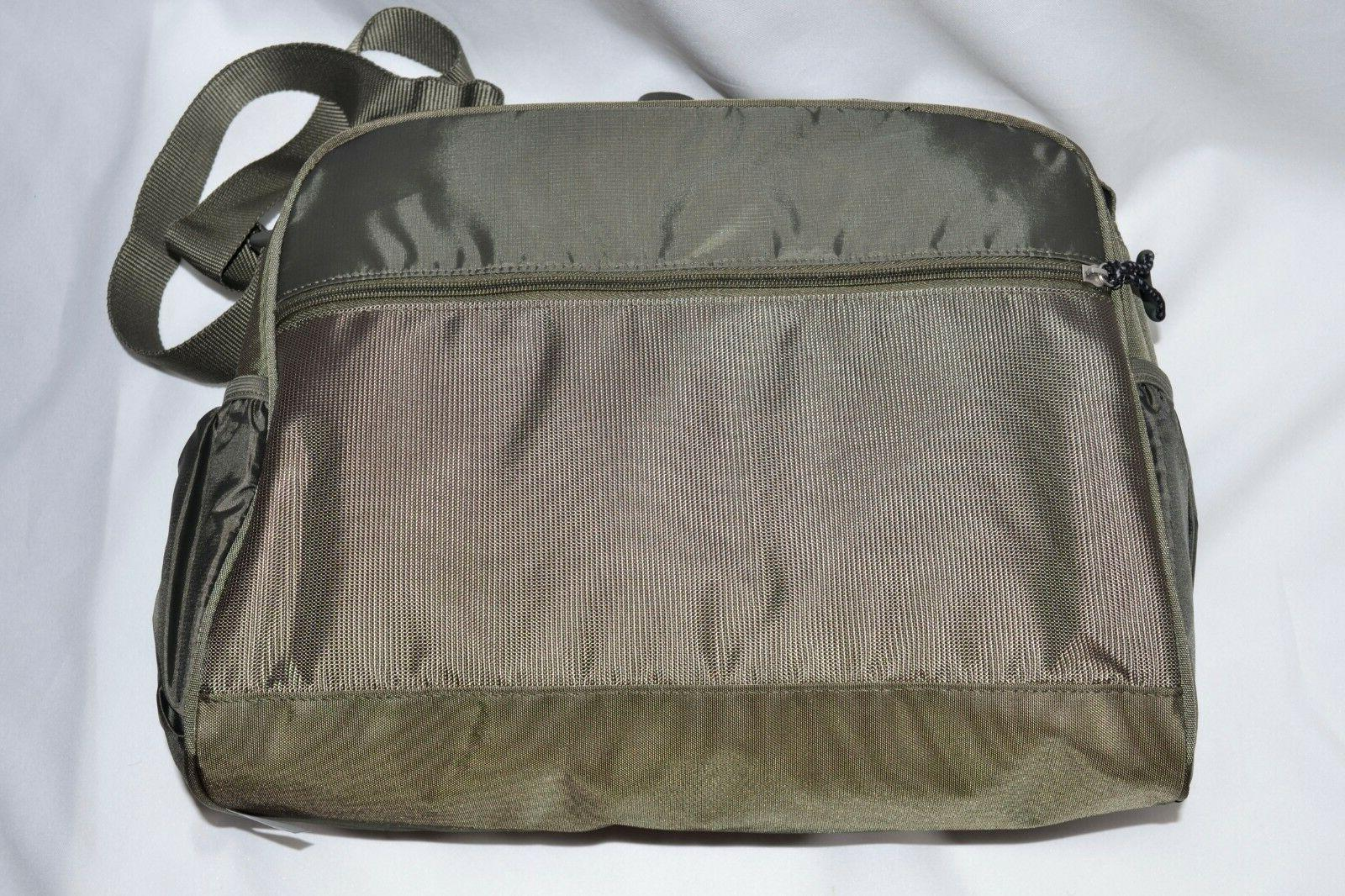 Columbia Green Diaper Baby Bag