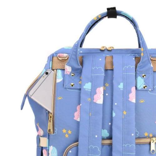 Designer Unicorn Fairy Diaper Bag. WATERPROOF