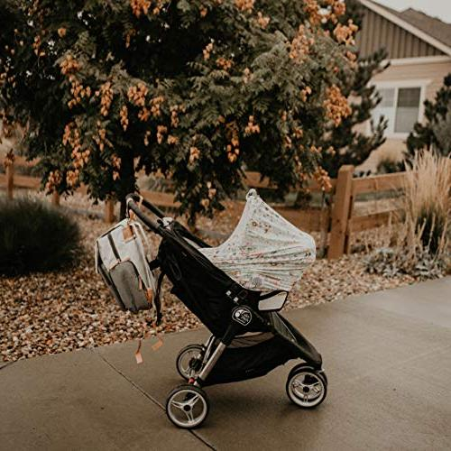 """Parker Baby - with Pockets, Straps -""""Birch Bag"""""""