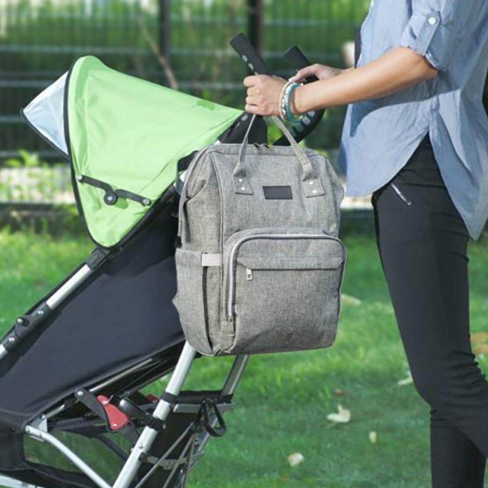 Diaper Backpack Insulated Baby Mummy