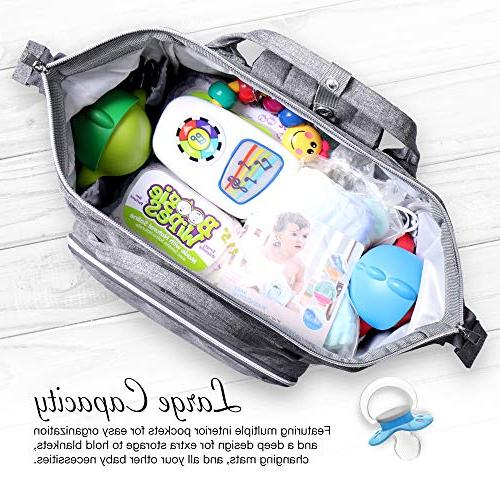 BabyX with Nappy for Mom & Dad Travel Baby Care Durable Stylish