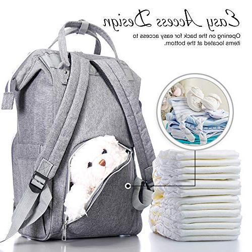 BabyX Diaper Bag with Nappy & Travel Baby Care Durable Stylish