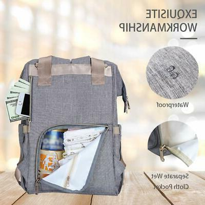 Diaper Bag Backpack Baby Diaper for and Multi-Function
