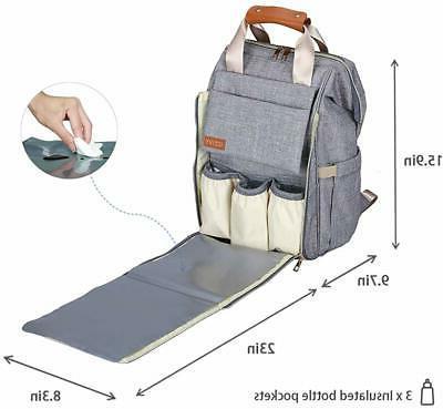 Diaper Diaper Bag for and Waterproof