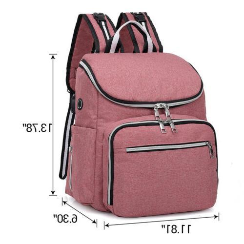 Diaper Travel Charging Mummy Nappy Handbag