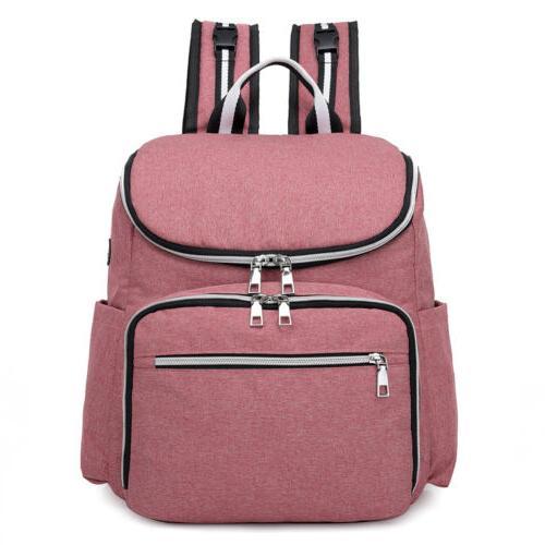 Diaper Bag Backpack Charging Nappy Handbag