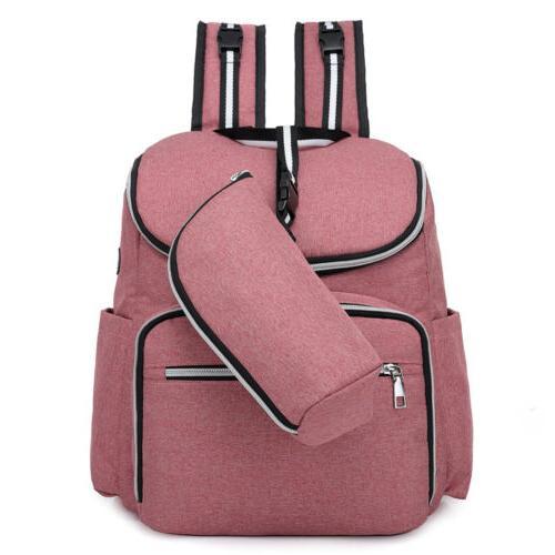 Diaper Travel Large Capacity USB Charging Handbag