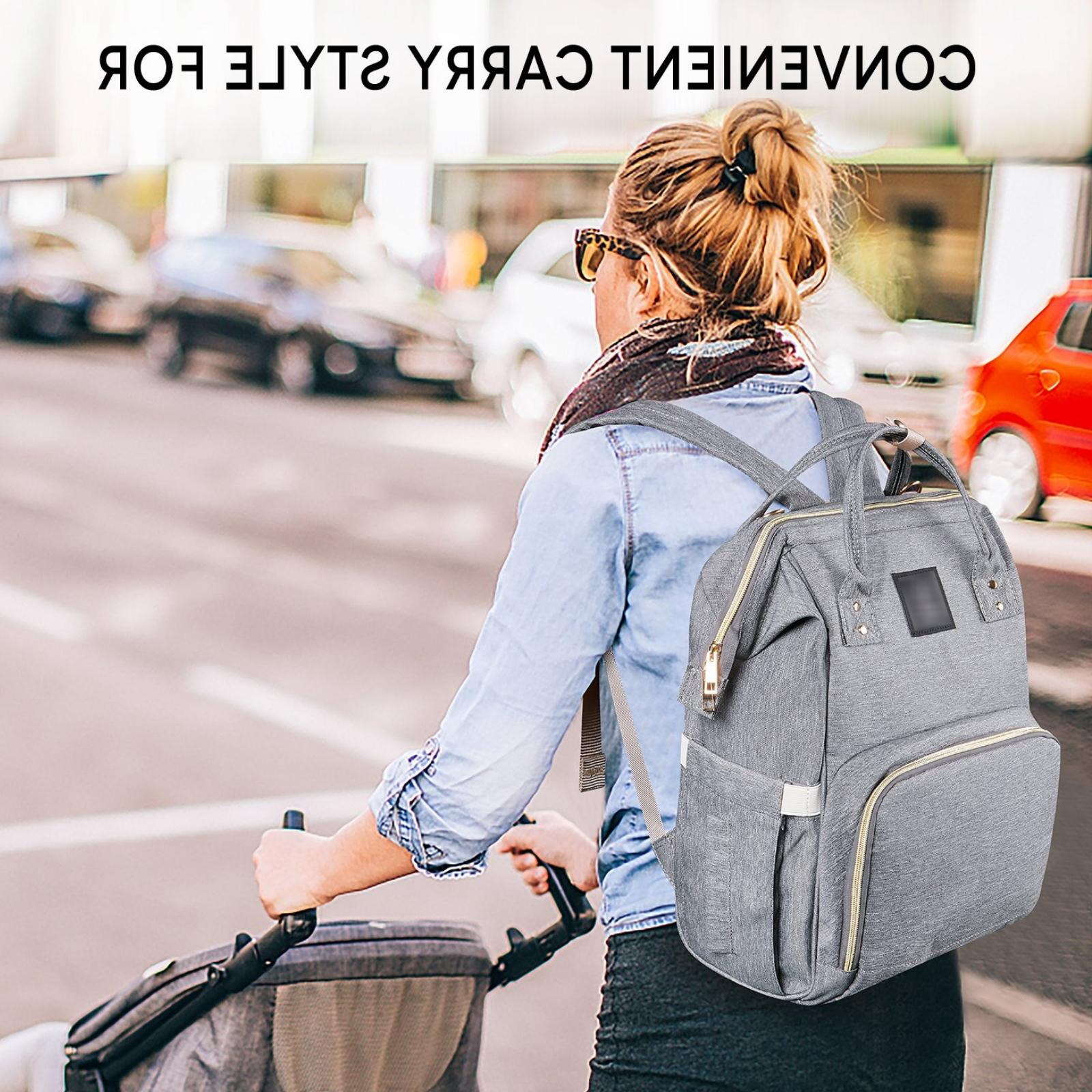 Diaper Bag Backpack For Men & TRAVEL BABY BAG