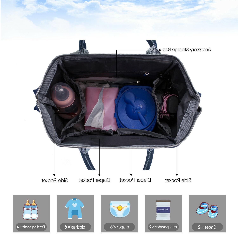 Diaper Large Capacity Travel Maternity Baby Bags