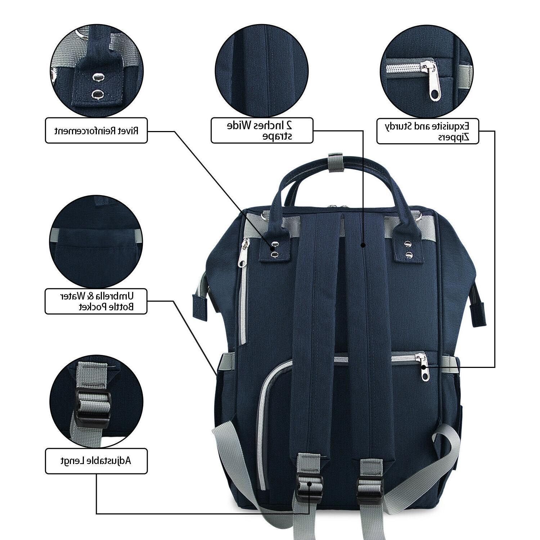 Diaper Bag Backpack Large Capacity Baby Bags