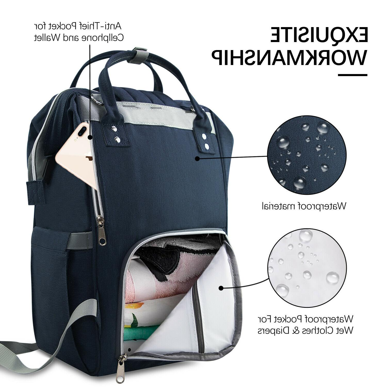 Diaper Capacity Baby Bags Anti-water