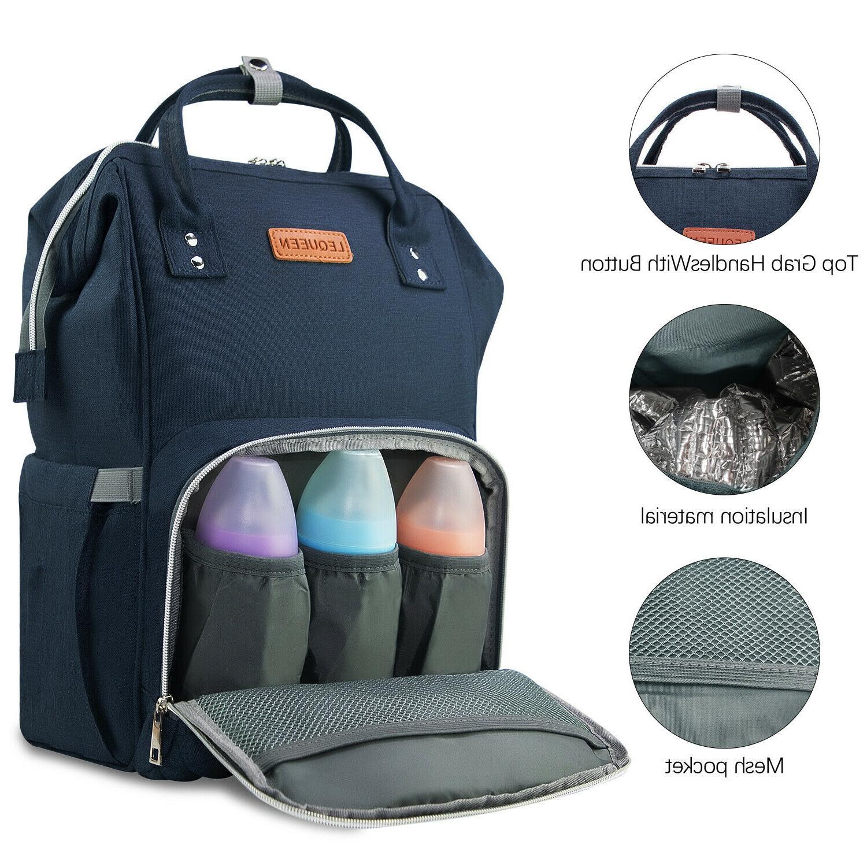 Diaper Backpack Capacity Mom Baby Bags