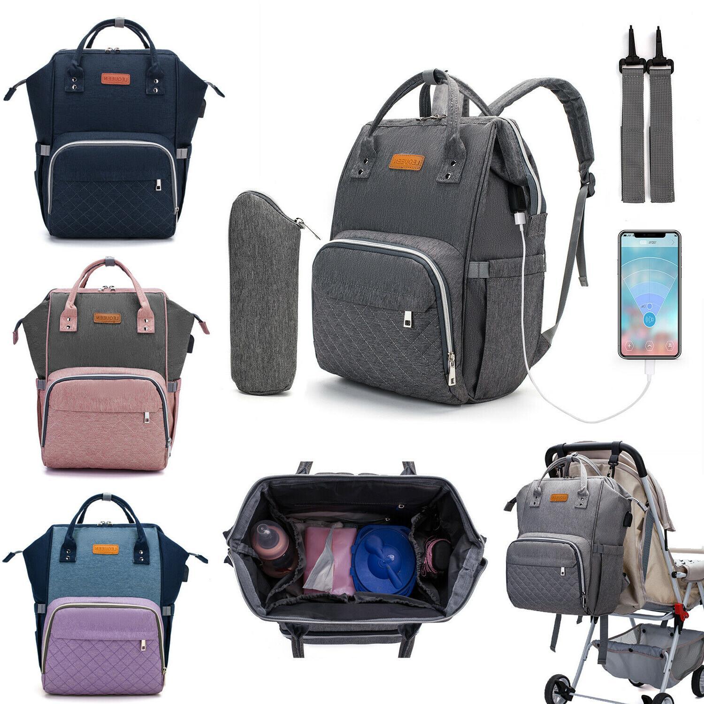 diaper bag backpack large capacity travel maternity
