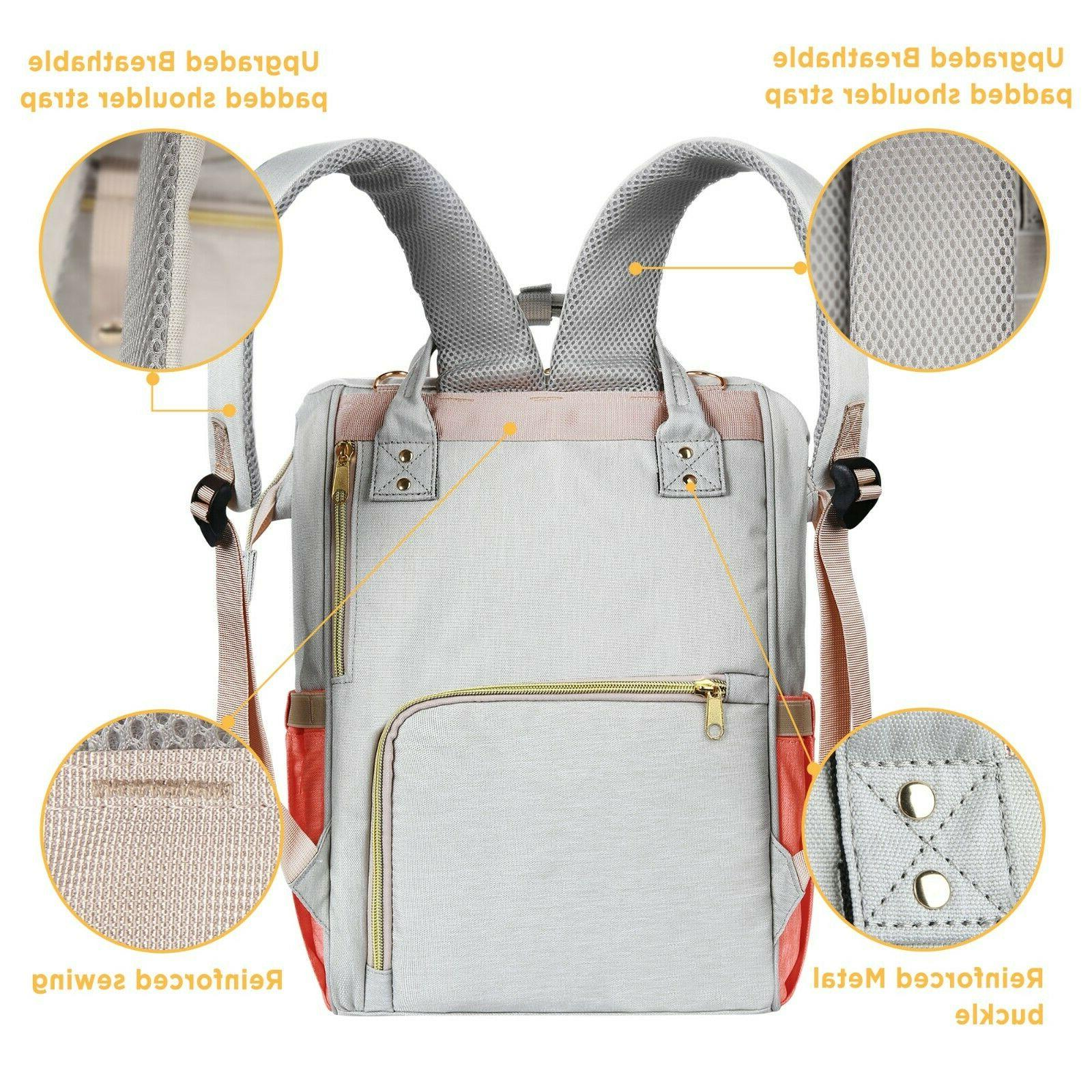 Diaper Bag Backpack Large - Travel